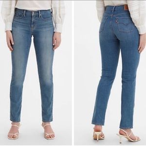 Levi's Premium 312 Shapping Slim Jeans Size 27